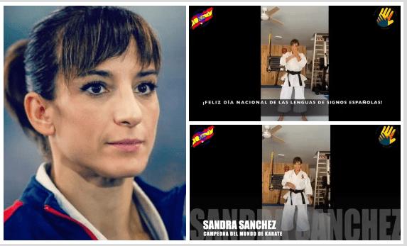 Sandra Sánchez: el entrañable motivo por el que ha aprendido la lengua de signos