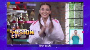 La chilena Valentina Toro promociona el Karate en televisión