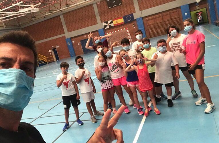 El club Sepai se ejercita en el 'Antonio Campoamor'