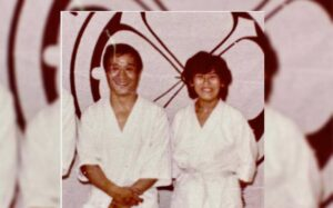 Gabriela Briceño la excelencia en el karate