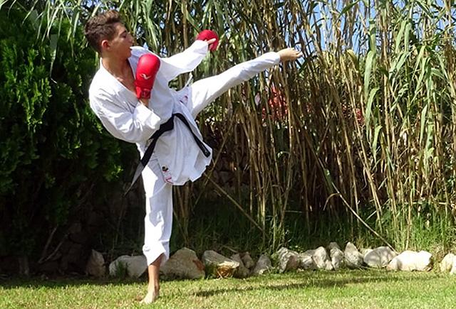 """Julen Triay convocado por la Real Federación Española de Karate dentro del programa """"Proyecto Mundial"""""""