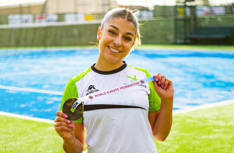 Marta García se esfuerza en recuperar su tobillo lesionado 0 (0)