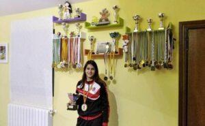 Paula del Toro ha sido seleccionada por la Real Federación Española de Kárate para participar en el proyecto mundial cadete, Junior y sub-21