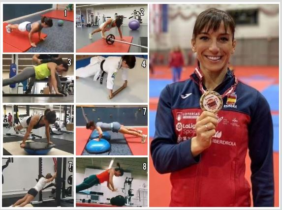 El método Sandra Sánchez para campeonar: 8 variaciones de flexiones, a cuál más dura
