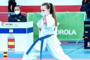 La Karateca Torrijeña Ainara Gómez-Hidalgo se lleva el bronce en la II fase de la Liga Nacional de Karate