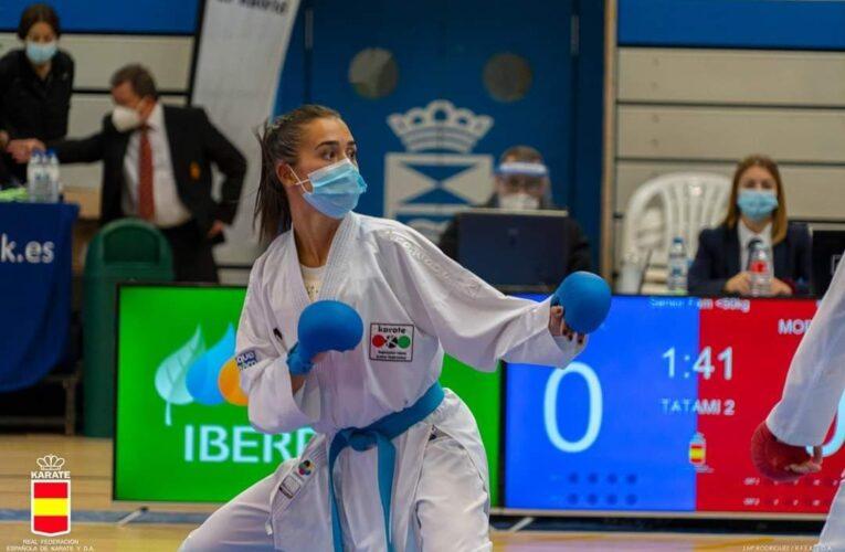 Plata para Alba Pinilla en la Liga Nacional de karate