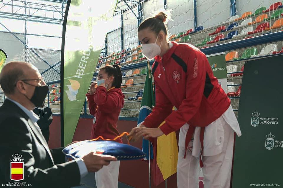 El Karate Almagro consigue tres medallas en la Liga Nacional
