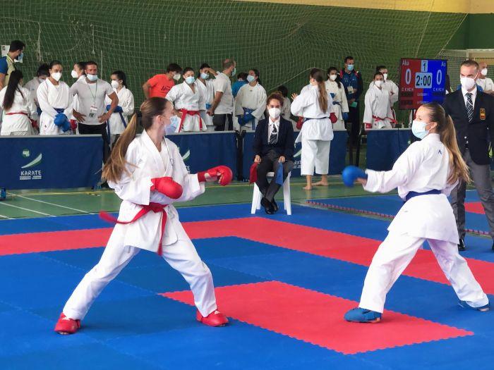 El karate cordobés consigue 5 medallas en el Campeonato de Andalucía