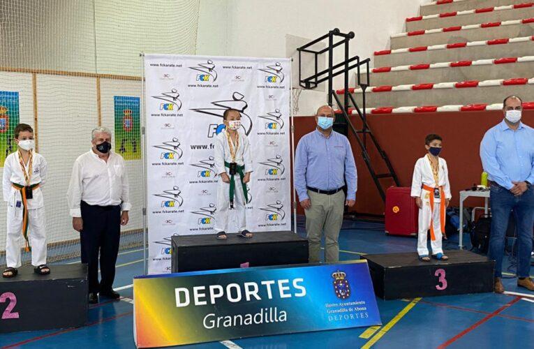 El campeonato de Canarias de katas congregó a alrededor de 150 deportistas en Granadilla de Abona