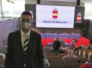 Ceuta no faltó a la reelección del presidente de la Federación Española de Kárate