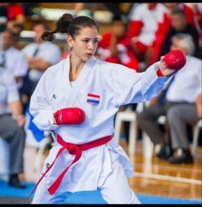 Karateca paraguaya busca su lugar en los Juegos Olímpicos de Tokio 2021