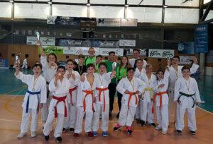 Los juegos deportivos en edad escolar se estrenan con el karate