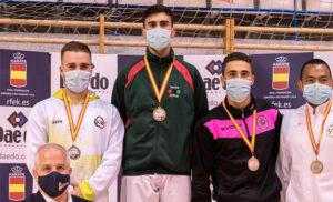 Cuatro medallas para el karate vasco en Leganés