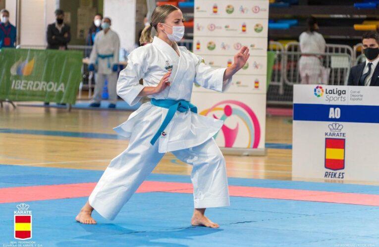 Lidia Rodríguez destaca en el regreso del Karate a las competiciones