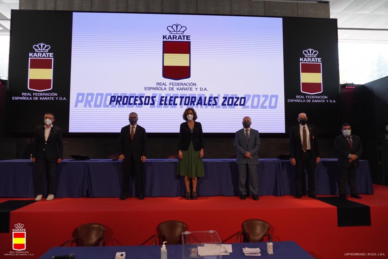 El albaceteño Antonio Moreno, reelegido como presidente de la Federación Española de Kárate