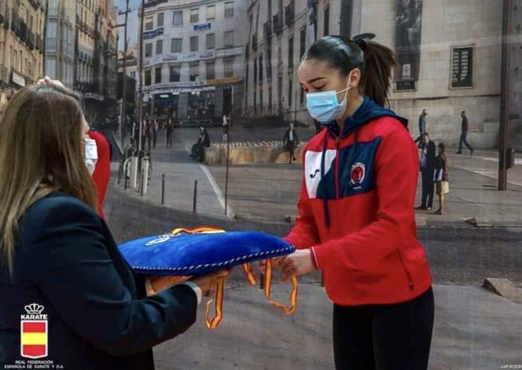 Paola García se cuelga la medalla de bronce en la Liga Nacional