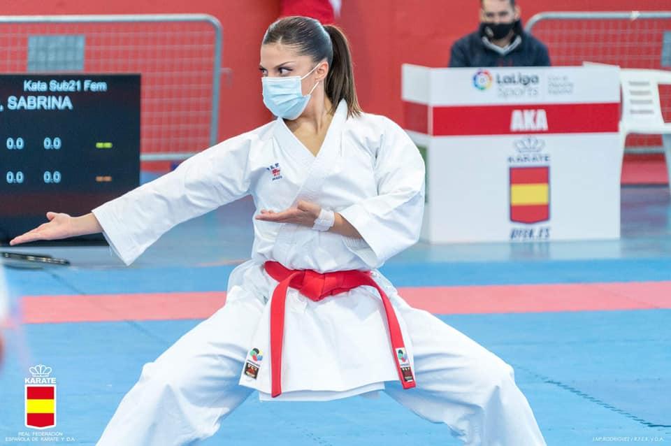 La karateca Sabrina Medero consigue la Plata en la Liga Nacional