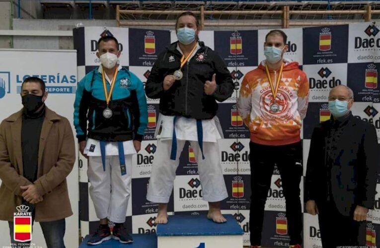 Félix Escribano, del Club Karate Sedaví, medalla de oro en la 2ª Ronda Liga Nacional Parakarate Masculino 0 (0)