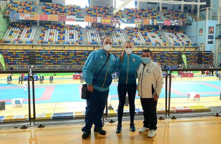 Brillante participación de Rubén Molina y Ainara Gómez-Hidalgo en la I Fase de la Liga Nacional de Kárate