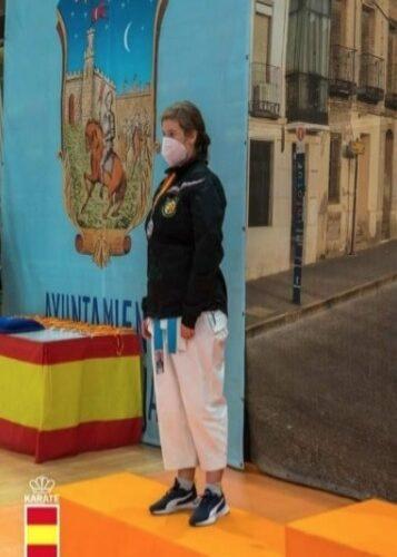 La barcense Lucía Sánchez, plata en la Liga Nacional Iberdrola