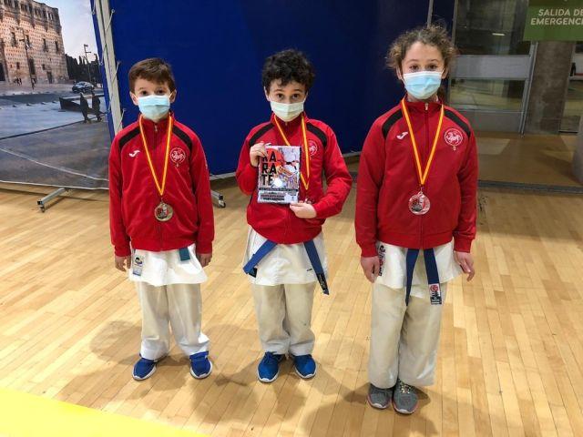 El Karate Almagro, subcampeón nacional alevín por clubes