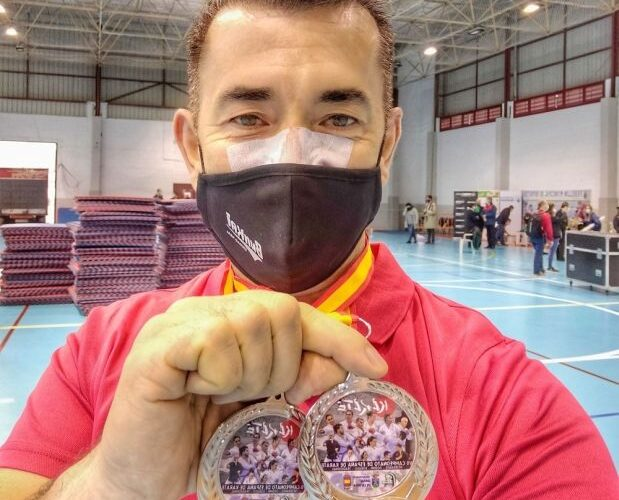 Ángel Jiménez, doble subcampeón de España 0 (0)
