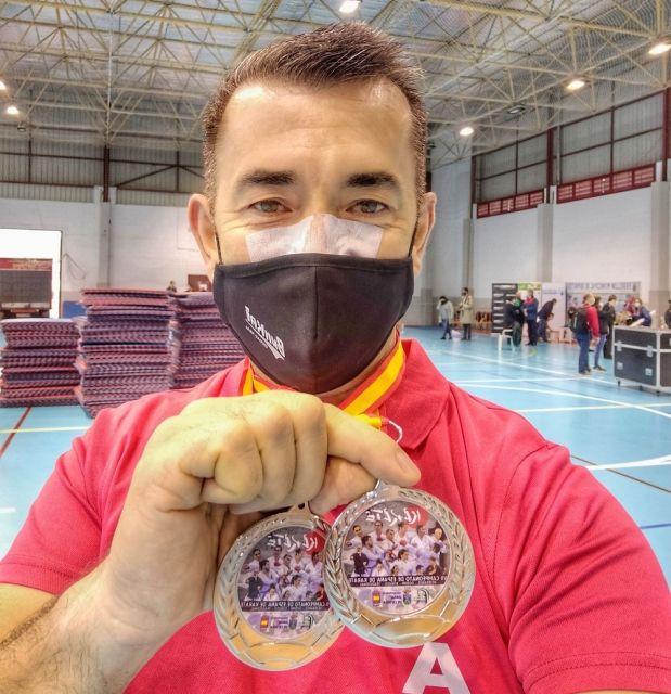 Ángel Jiménez, doble subcampeón de España
