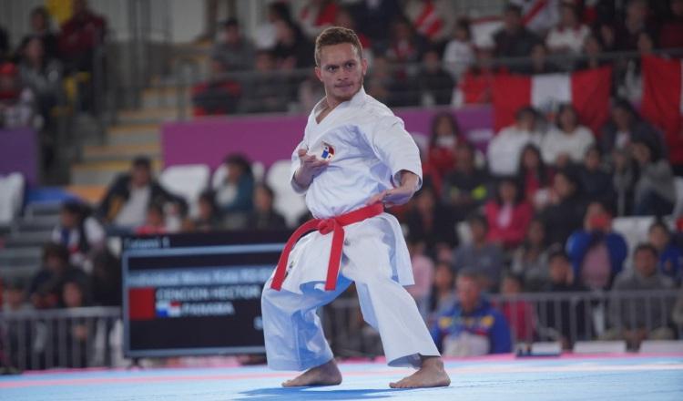 Héctor Cención se afila para el Preolímpico, esperanza del karate panameño para Tokio