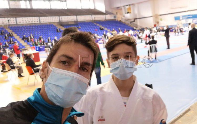 Los karatecas ceutíes, a gran nivel en el Campeonato de España