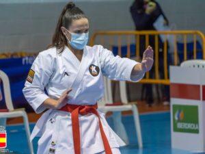 La torrejonera, Clara Gutiérrez, logra tres medallas en el Campeonato de España de Karate Tradicional