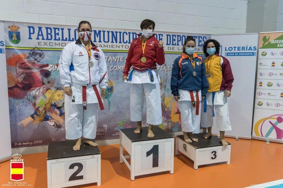 Primer puesto en el medallero para Castilla y León en el Campeonato de España de Kárate Tradicional