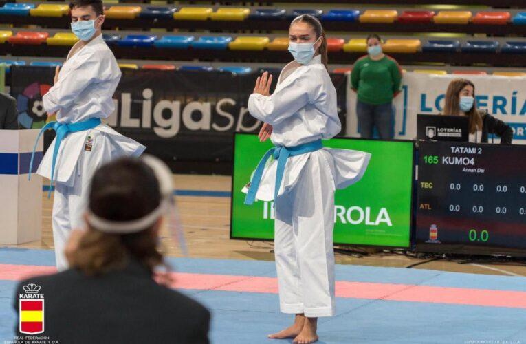 Brillo de los karatecas extremeños en Guadalajara