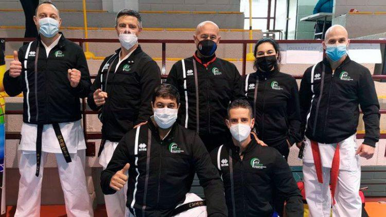 La selección extremeña de karate consigue cuatro medallas en el nacional de veteranos 0 (0)