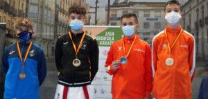 Iker Montiel, campeón de la liga nacional de kárate