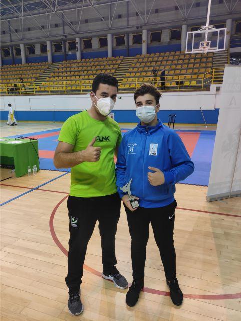 Jaime García, del Kaizen do Marbella, logra la plata en su categoría en el Campeonato de Andalucía Infantil 2020