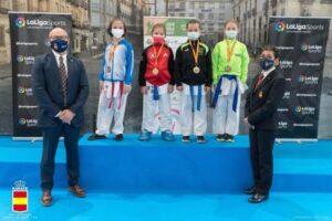La ceutí Julia Melgar gana en la Liga Nacional de Karate en Guadalajara