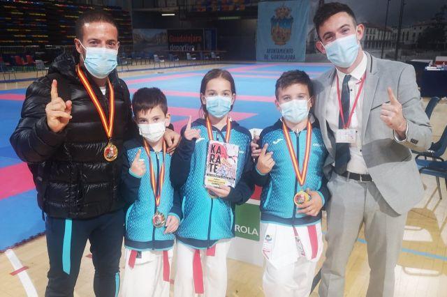 El Club de Kárate Kanku se proclama campeón de España alevín