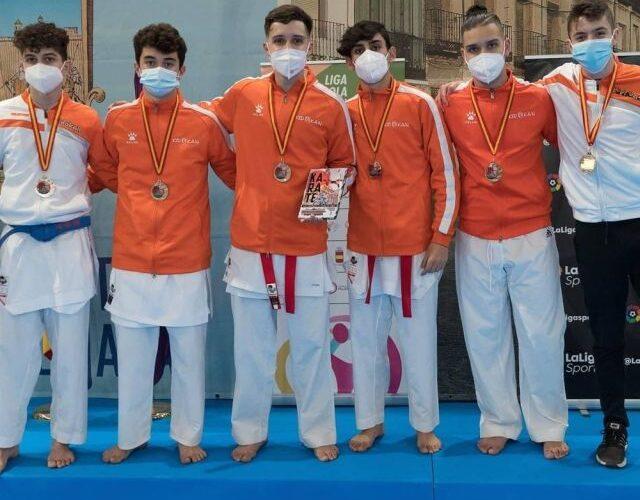 Los clubes de la provincia se cuelgan cinco medallas 0 (0)