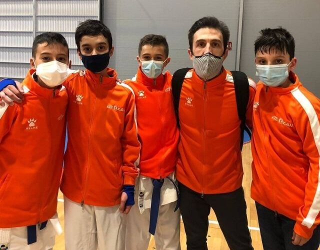 Siete medallas para el Kidokan en la Liga Nacional Infantil