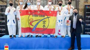 El Club Iván Leal campeón de España de Karate en categoría juvenil por tercer año consecutivo