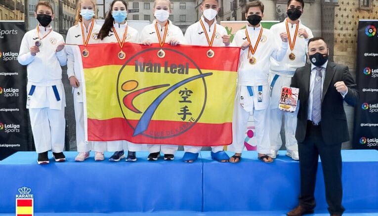El Club Iván Leal campeón de España de Karate en categoría juvenil por tercer año consecutivo 0 (0)