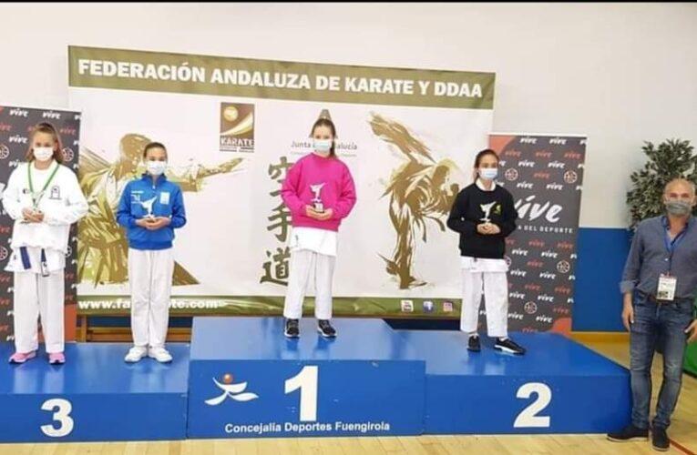 La guadalcaceña Lola Castro medalla de bronce en el Campeonato de Andalucía Infantil de Kárate 0 (0)