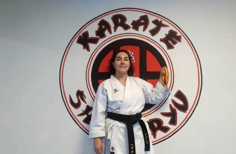 Miriam Calvo, subcampeona de España, anima a las mujeres a practicar karate 0 (0)