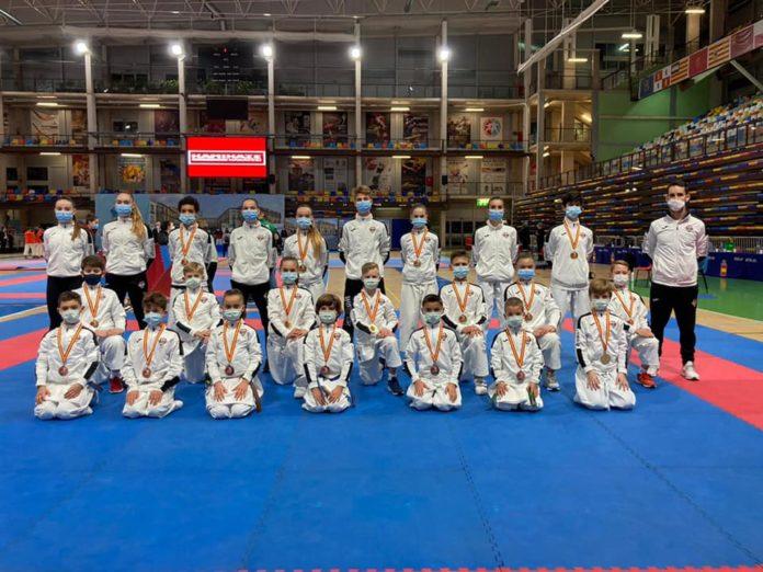 El Olympic Marbella, campeón de España 2020 por clubes de karate