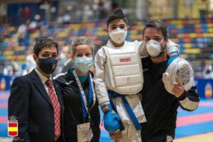 Óscar Arribas, bronce en la Liga Nacional de Karate