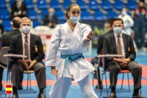 Paola García, campeona de España de karate en categoría cadete