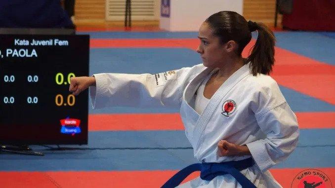 Paola García busca el oro en el campeonato de España individual