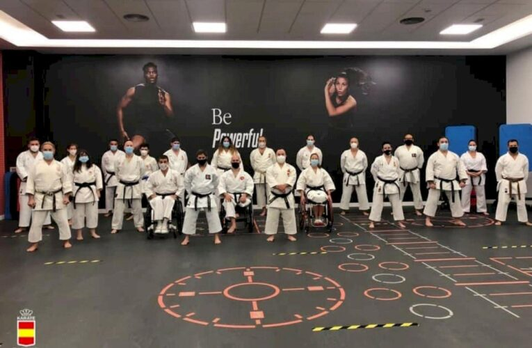 El karateka Félix Escribano, del Club Karate Sedaví, se concentra con la Selección Nacional de Para-Karate 0 (0)