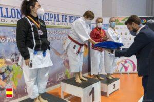 Pilar Gómez, campeona de España de kata veteranas
