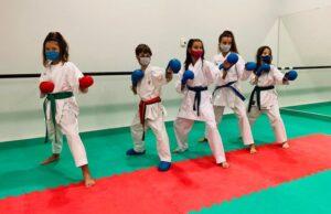 Cinco karatekas de San Juan acuden a la Fase 2 de la Liga Nacional de Kárate